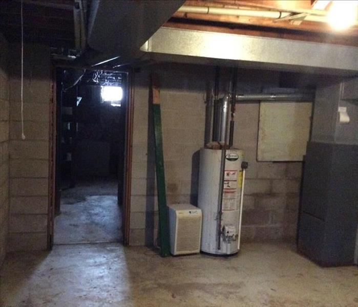 picture of clean basement with no water or mold